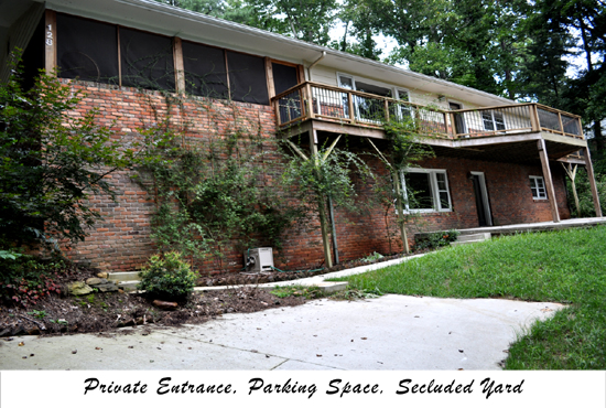 Furnished One Bedroom In North Asheville North Carolina Utilities Included